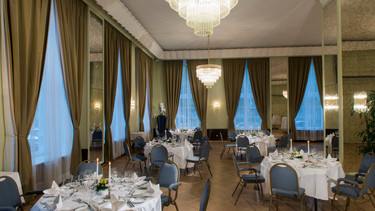 Banquet room for private parties in Wyndham Duisburger Hof hotel | ©  Wyndham Duisburg