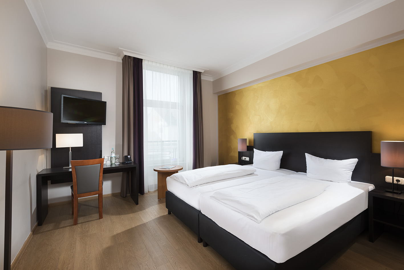 Wyndham Hotel Duisburger Hof - Hotelzimmer Stadtzentrum